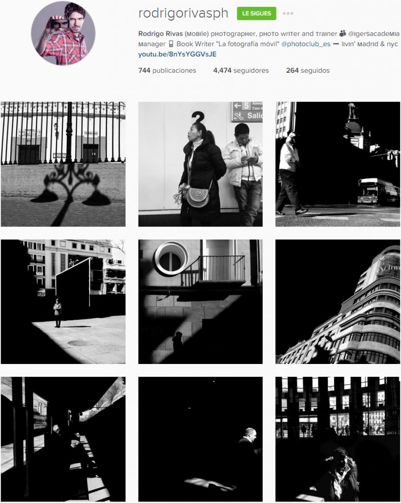 El Instagram del autor. Un buen sitio para ver más ejemplos de cada aparatado.